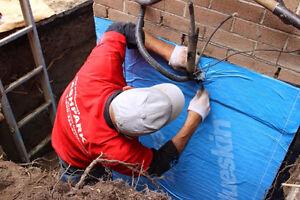Wet Leaky Basement 1-800-334-6290 Basement Epoxy Crack Repair Belleville Belleville Area image 6