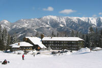 Christmas Ski Vacation in Slopeside Condo at Fernie Mtn Resort