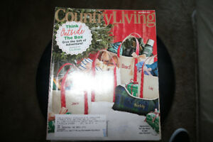 - 4 Country Living Magazines - 2018 -