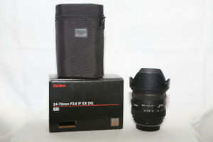 Sigma 24-70mm F2.8  IF EX DG Zoom Lens for Pentax