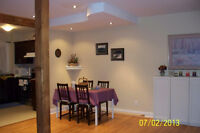 Furnished bedrooms for rent-Tudor Ave Pointe Claire West Island.