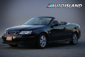 2007 Saab 9-3 2.0L TURBO , CONVERTIBLE, 6 SPPPED MANUAL, LO...