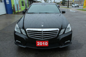 2010 Mercedes-Benz E-Class 4 matic Sedan