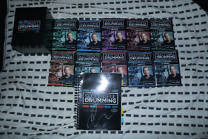 Drumeo 10 DVD Set and Lesson Book - (Signed by Jared Falk)
