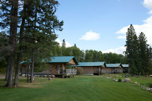 cabins or rooms your pick for for a lake stay