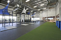 Rubber Gym Flooring for home gyms, studios, fitness facilities