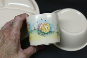 3 Piece Pooh Bear Plastic Dinnerware Set The Walt Disney Company Kingston Kingston Area image 4