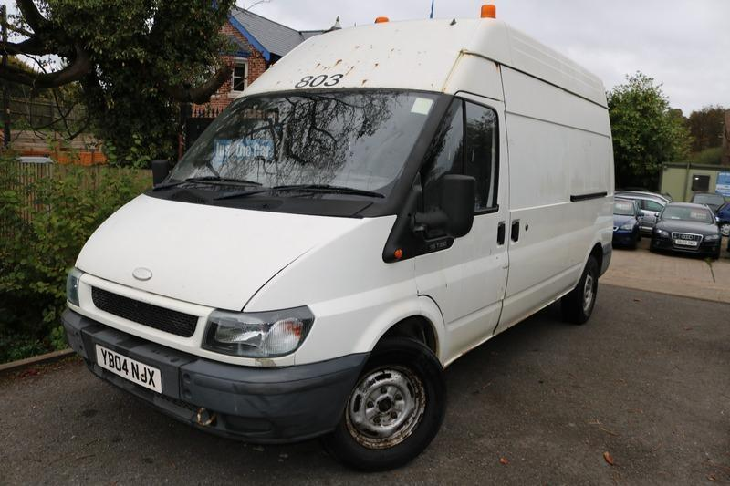 2004 Ford Transit 350 LWB H/R White Long MOT Low Mileage