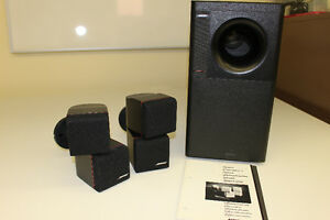 BOSE ACOUSTIMASS 5 SERIES II DIRECT/REFLECTING SPEAKER SYSTEM