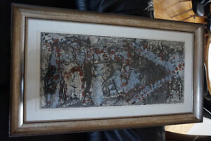 Jean RIOPELLE Stone - Lithograph LIMITED ed.
