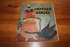 The Pop Up Mother Goose Book 1934 London Ontario image 1