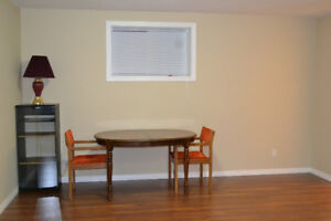 Two bedroom basement with separate entrance/laundry
