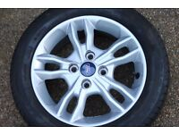 Ford Fiesta alloys and good year tires