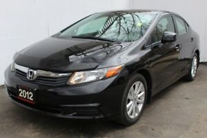 2012 Honda Civic EX Sunroof Alloy wheels