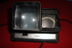 Vintage Argus 35mm slide Viewer Projector Model 693 Electromatic Kingston Kingston Area image 1