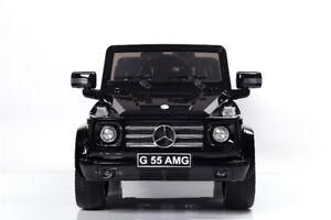 FACTORY SALE KIDS MERCEDES G55 AMG RIDE ON TOY CAR/ REMOTE/12V