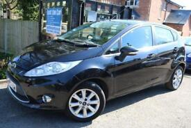2008 (58 Plate) Ford Fiesta Zetec 1.4 Black 5 Door Automatic Finance Available