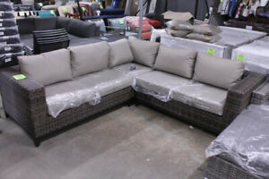 Vida Outdoor Sectional With Sunbrella Cushions