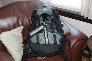 Vaude Tour 50 Liter backpack with raincover sac a dos de voyage