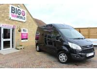 2014 FORD TRANSIT CUSTOM 290 TDCI 155 L2 H2 LIMITED LWB HIGH ROOF FWD VAN LWB DI