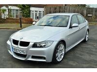 BMW 320 2.0 Auto 2008 i M Sport, 105K MILES, FULL S/HISTORY, NEW MOT,