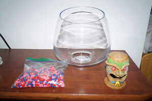 TOP FIN Glass Bowl 4,5 L. Free accessories!