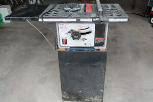 "Shopcraft 10"" table saw"