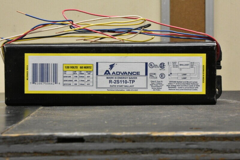 ADVANCE 120 volt ballast R-2S110-TP
