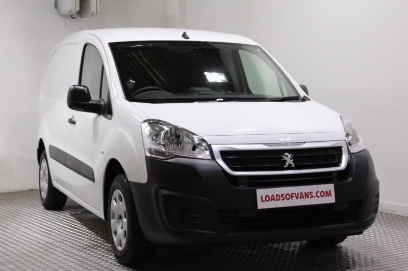 2016 peugeot partner l1 1.6 hdi 75 professional van diesel white