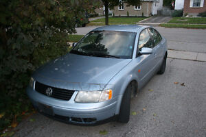 1999 Volkswagen Passat Sedan $2500.00 OBO ***** AS IS *******