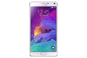 Galaxy Note 4 32GB White factory unlocked unlocked works perfec