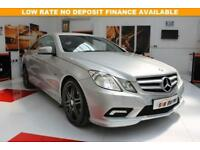 2011 MERCEDES-BENZ E CLASS 2.1 E250 CDI BLUEEFFICIENCY SPORT 2D 204 BHP DIESEL