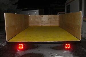 NICE REBUILT 7 FT X 14 FT TRAILER WITH REMOVABLE SIDES