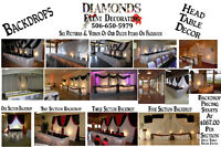 DIAMONDS Event Decor & Decorating - 506-650-5979