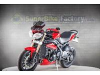 2011 11 TRIUMPH SPEED TRIPLE 1050 ABS - NATIONWIDE DELIVERY AVAILABLE