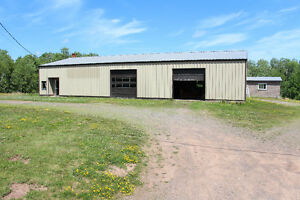Tons of Potential!  Large commercial building Almost 2 Acres
