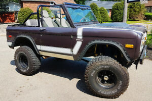 Vintage *Mint* 1974 Ford Bronco For Sale!