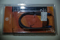 BRAND NEW Planet Waves digital optical cable 2 feet long