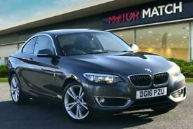 image for 2016 BMW 2 Series 218I LUXURY Coupe Petrol Manual