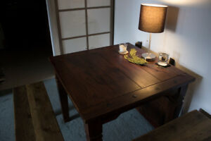 Gorgeous Solid Rosewood Dining Table