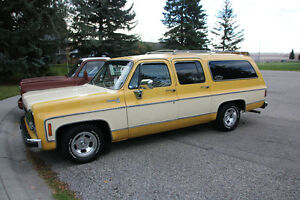 "1978 Suburban Silverado - ""The Creamsicle"""