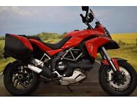 Ducati Multistrada 1200 S Touring **Ducati Panniers, Safety Pack, Optimate**