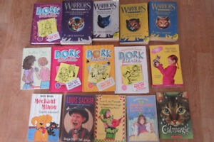 Children Young Adult Books plus DVD Video Bonus