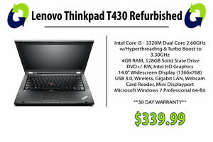 Lenovo ThinkPad T430 Refurbished Laptop - 360 Computers