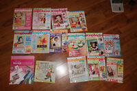 13 Scrapbooking magazines and two how to books