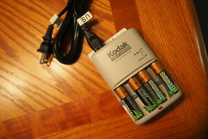Duracell Rechargeable AA Batteries with Quick Charger