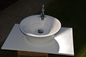 Top Mount Sink and Faucet