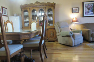 Dining Room Set (French Provincial)