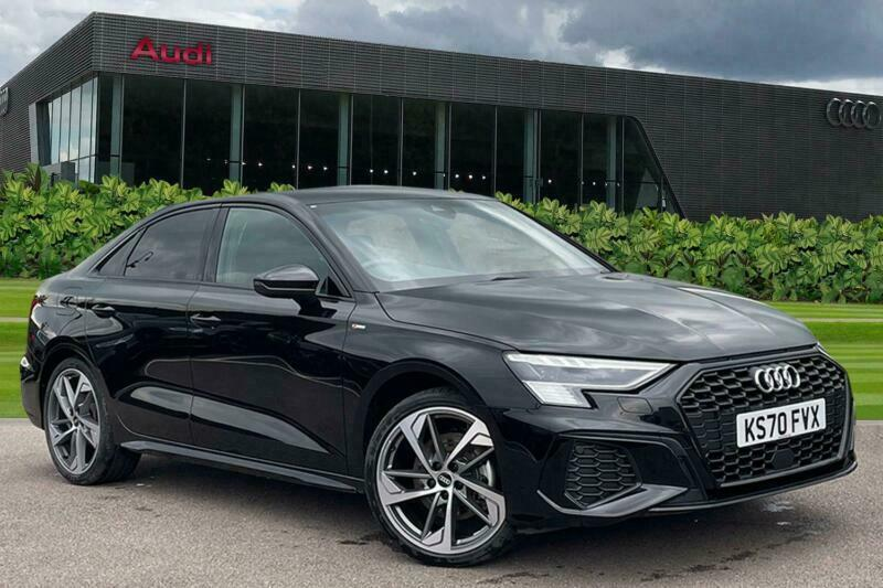 2020 Audi A3 Saloon Edition 1 35 TDI  150 PS S tronic Auto Saloon Diesel Automat