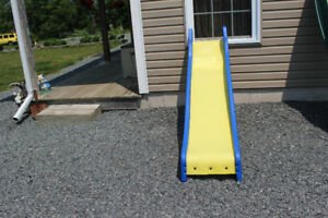 8 foot Yellow & Blue Slide
